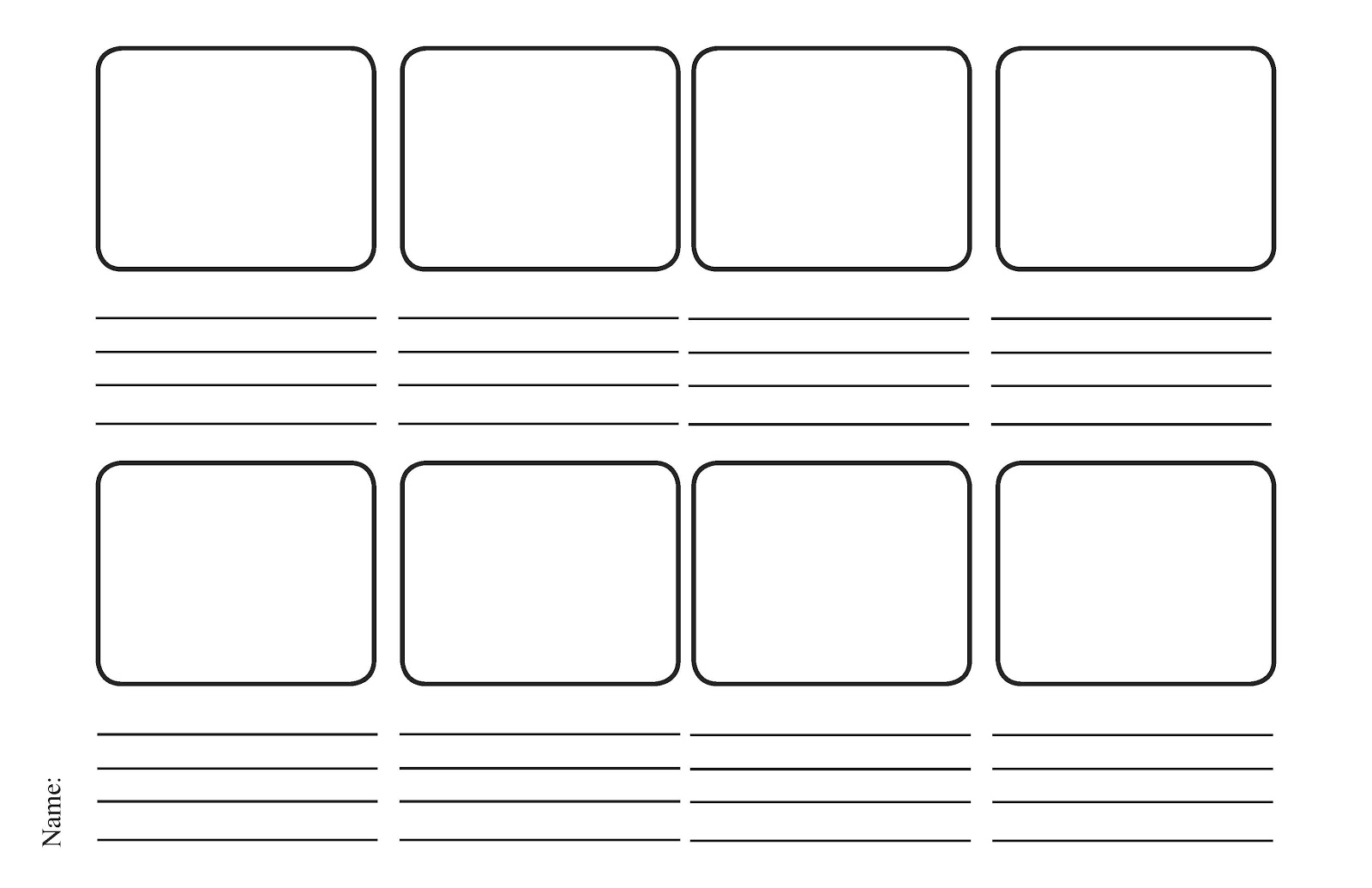 Irresistible image for printable storyboard