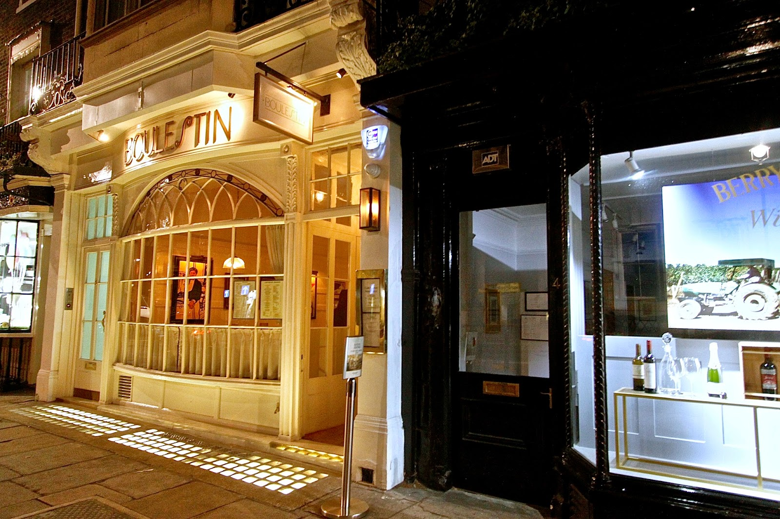 Bistro Restaurant Southampton Street London