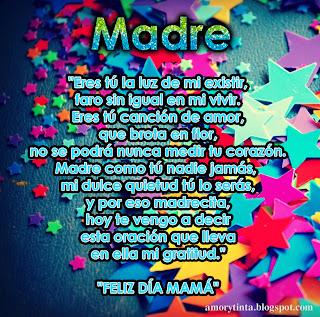 Mensajes para MAMA - Poema evocando a la madre Ausente o