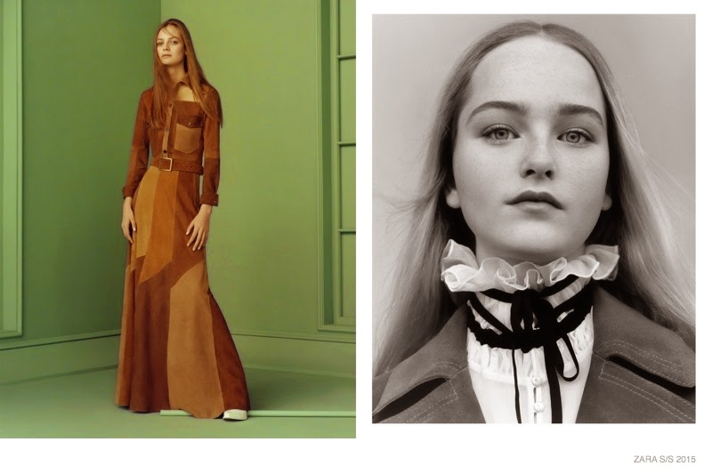 Zara Does Dreamy 70s Style for Spring 2015 Campaign