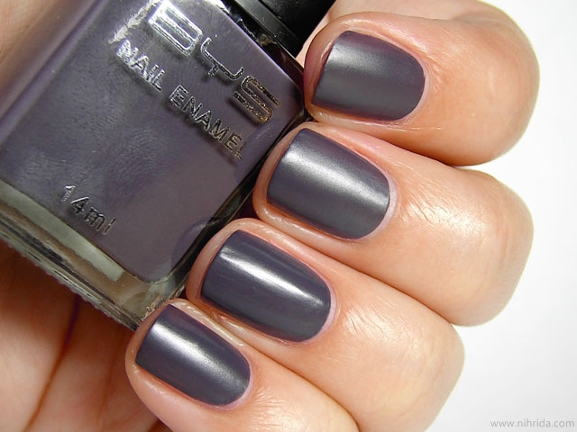 BYS Matte Charcoal