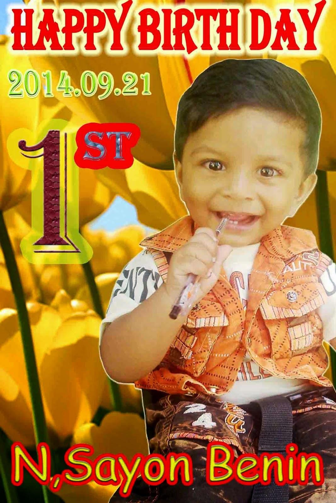 1st Happy Birth Day