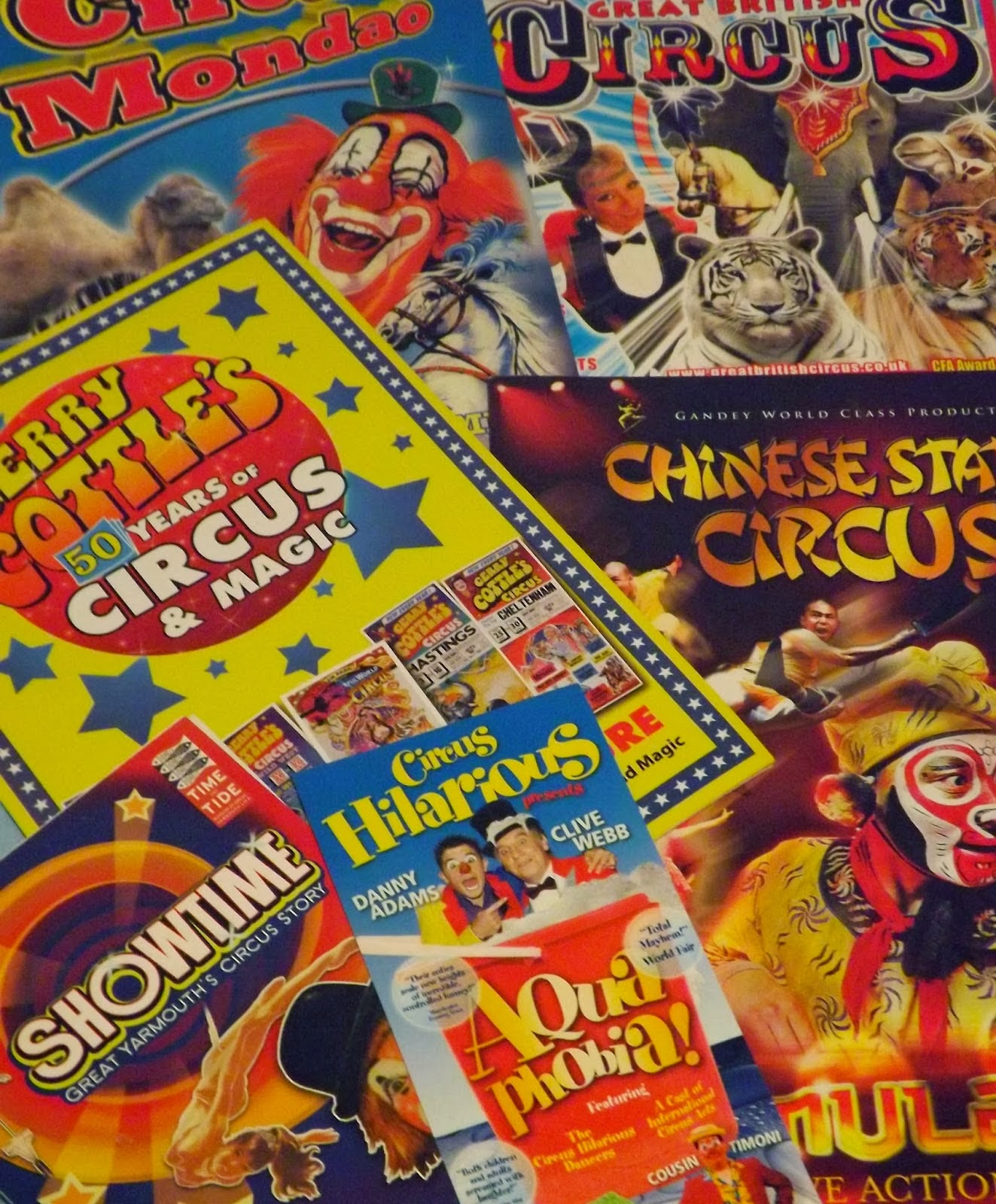Circus Posters!