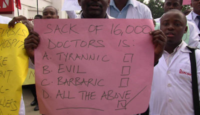 Update on Resident Doctors: FG recalls Resident doctors, lifts suspension on Residency Training Programme