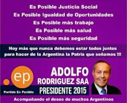 ADOLFO PRESIDENTE 2015 !