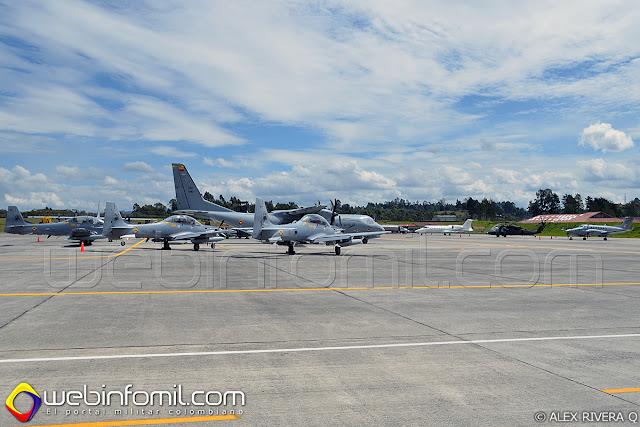 Una numerosa flota de aeronaves de la Fuerza Aérea Colombiana entre las que se destacan helicopteros UH-60 Ángel, C-130 Hércules, C-295 Titán, A-29B Supertucano y A-37B Dragón  participarán en el Ejercicio Internacional Ángel de los Andes.