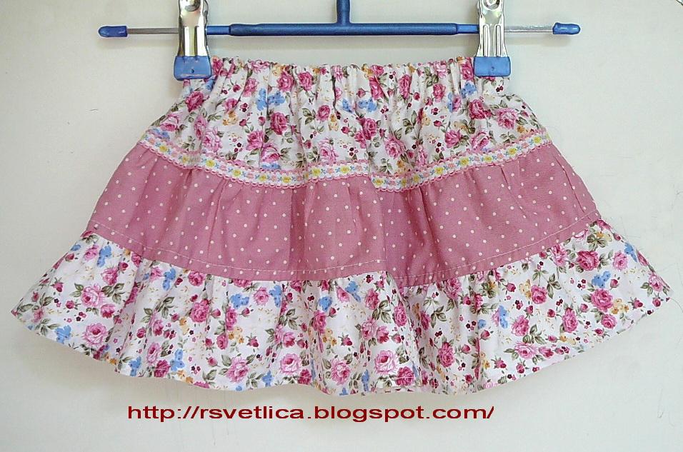 Как сшить юбку на девочку 2 лет 95