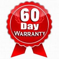 60 days limited warranty