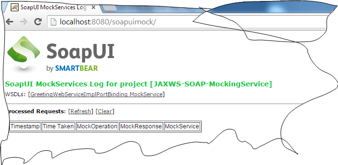 Deploying SOAP Web Services as Mock Service By SoapUI WAR in Tomcate Tutorial SoapUI URL