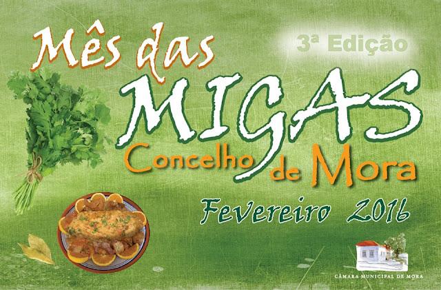 Divulgação: Mês das Migas regressa a Mora - 3ª edição em Fevereiro - reservarecomendada.blogspot.pt