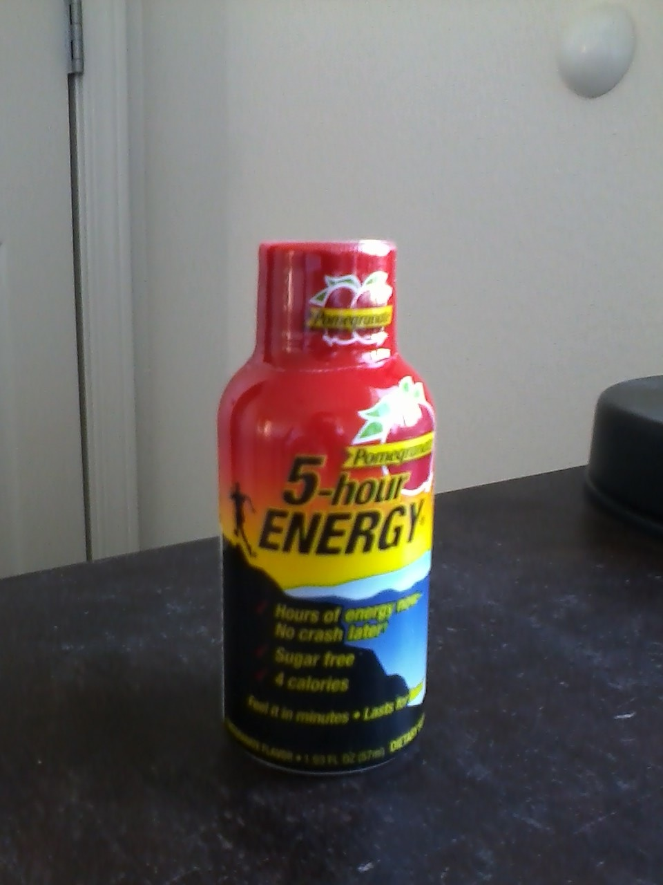 CAFFEINE!: Review for 5 Hour Energy--Pomegranate