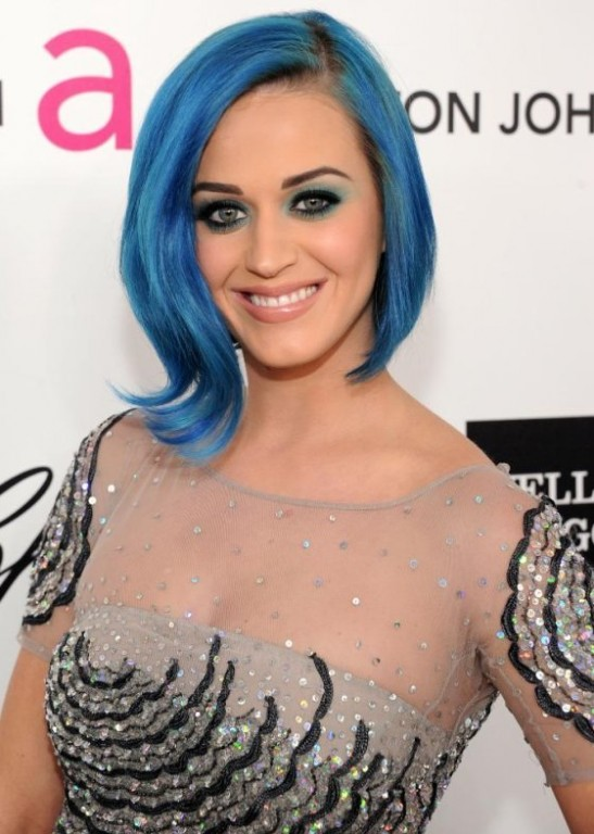 Katy Perry: Katy Perry Bluehair