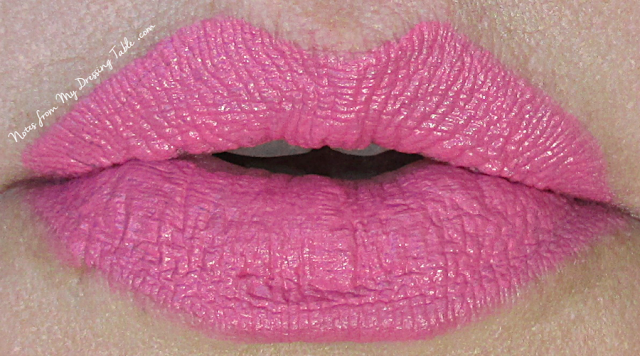 NARS Audacious Lipstick in Claudia Lip Swatch notesfrommydressingtable.com