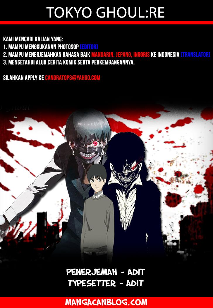 Dilarang COPAS - situs resmi www.mangacanblog.com - Komik tokyo ghoul re 008 - agen 9 Indonesia tokyo ghoul re 008 - agen Terbaru 19|Baca Manga Komik Indonesia|Mangacan