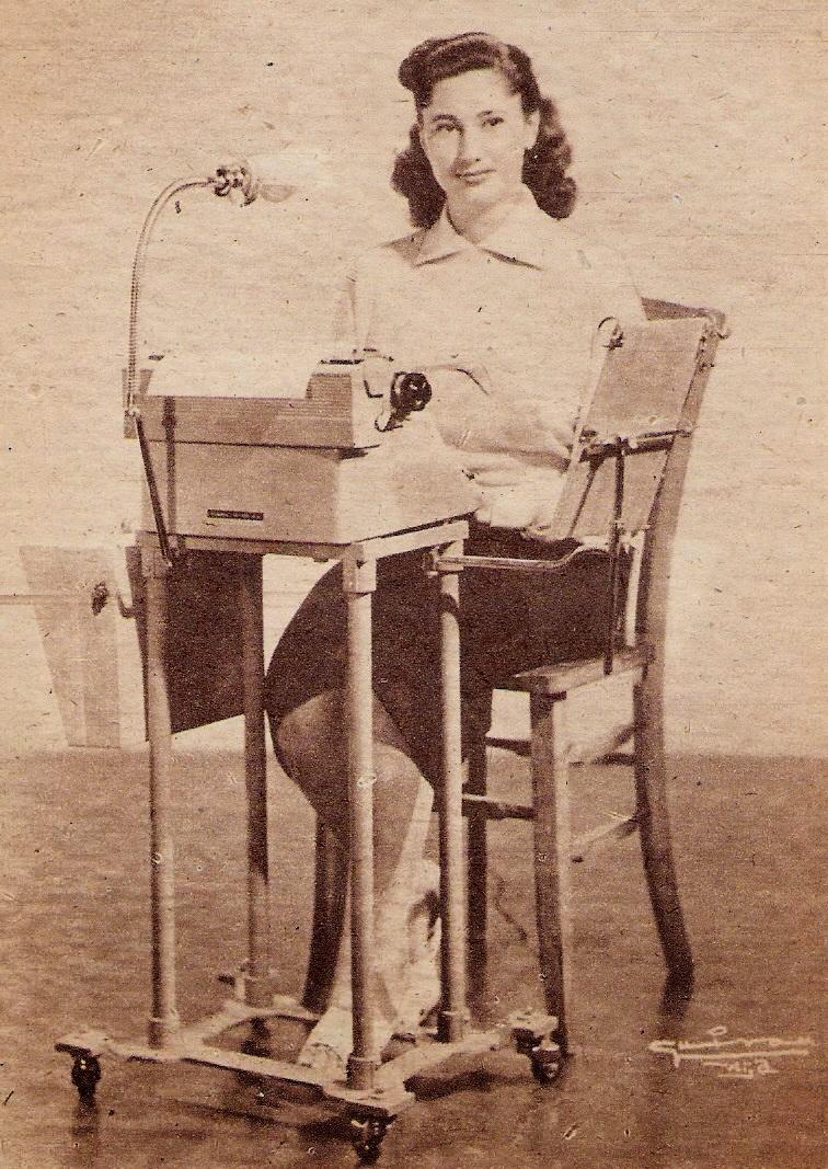Mecanógrafa - 1958