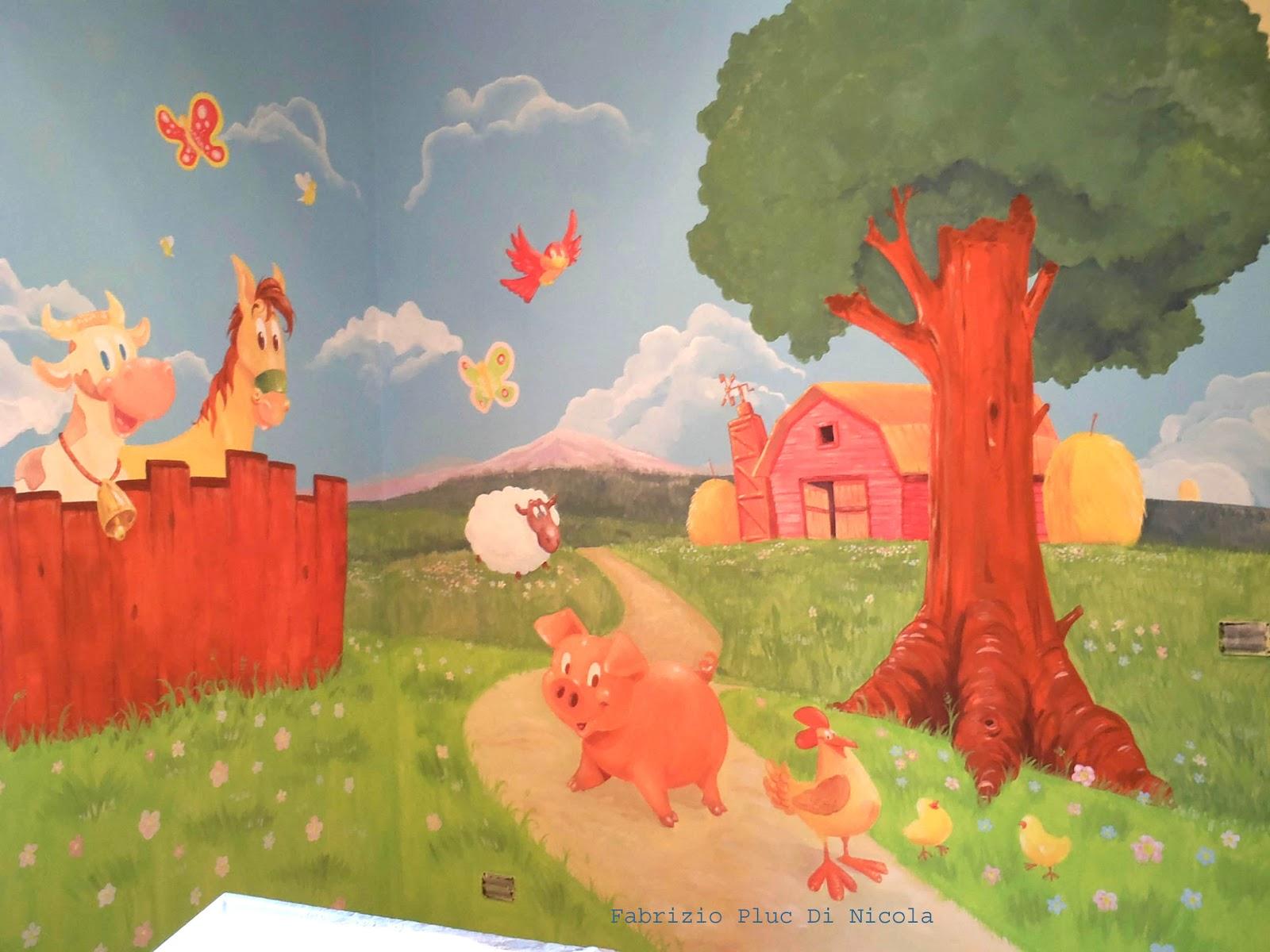 Decorare pareti camera decorazioni muri camere da letto - Murales cameretta bimbi ...