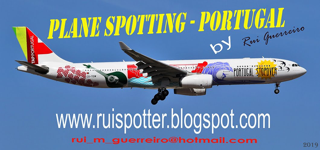 AVIAÇÃO  - PLANE SPOTTING - PORTUGAL