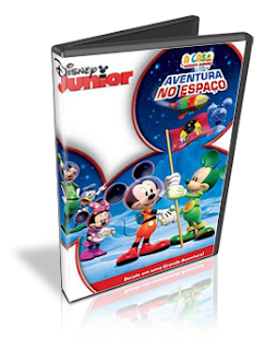 Download A Casa Do Mickey Mouse: Aventura no Espaço Dublado DVDRip 2011