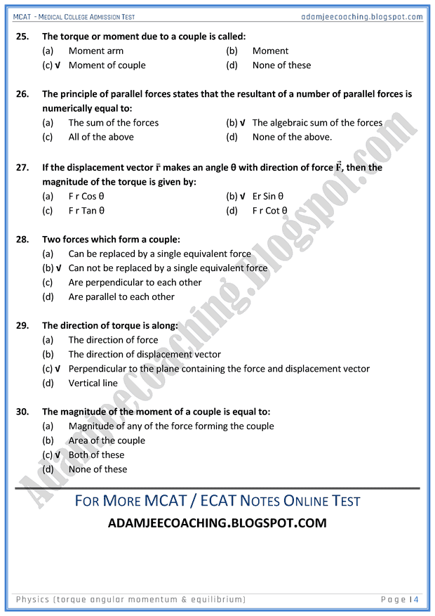 mcat-physics-torque-angular-momentum-and-equilibrium-mcqs-for-medical-entry-test