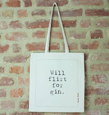Item of the week: Will Flirt For Gin Tote