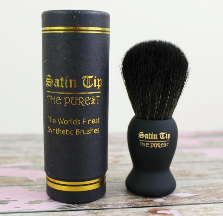 SATIN TIP THE PUREST SHAVING BRUSH wet shave club