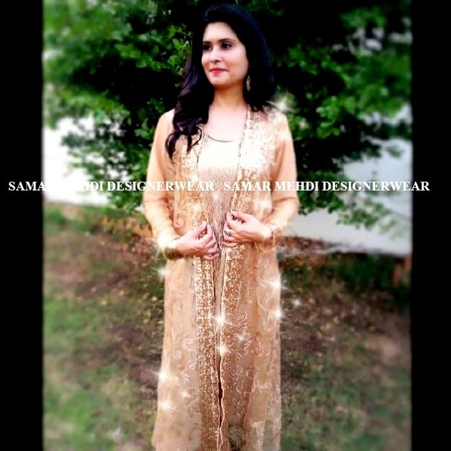 Samar Mehdi Designer Wear Summer Collection 2014 for Girls