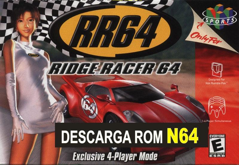 Ridge Racer 64 descarga rom