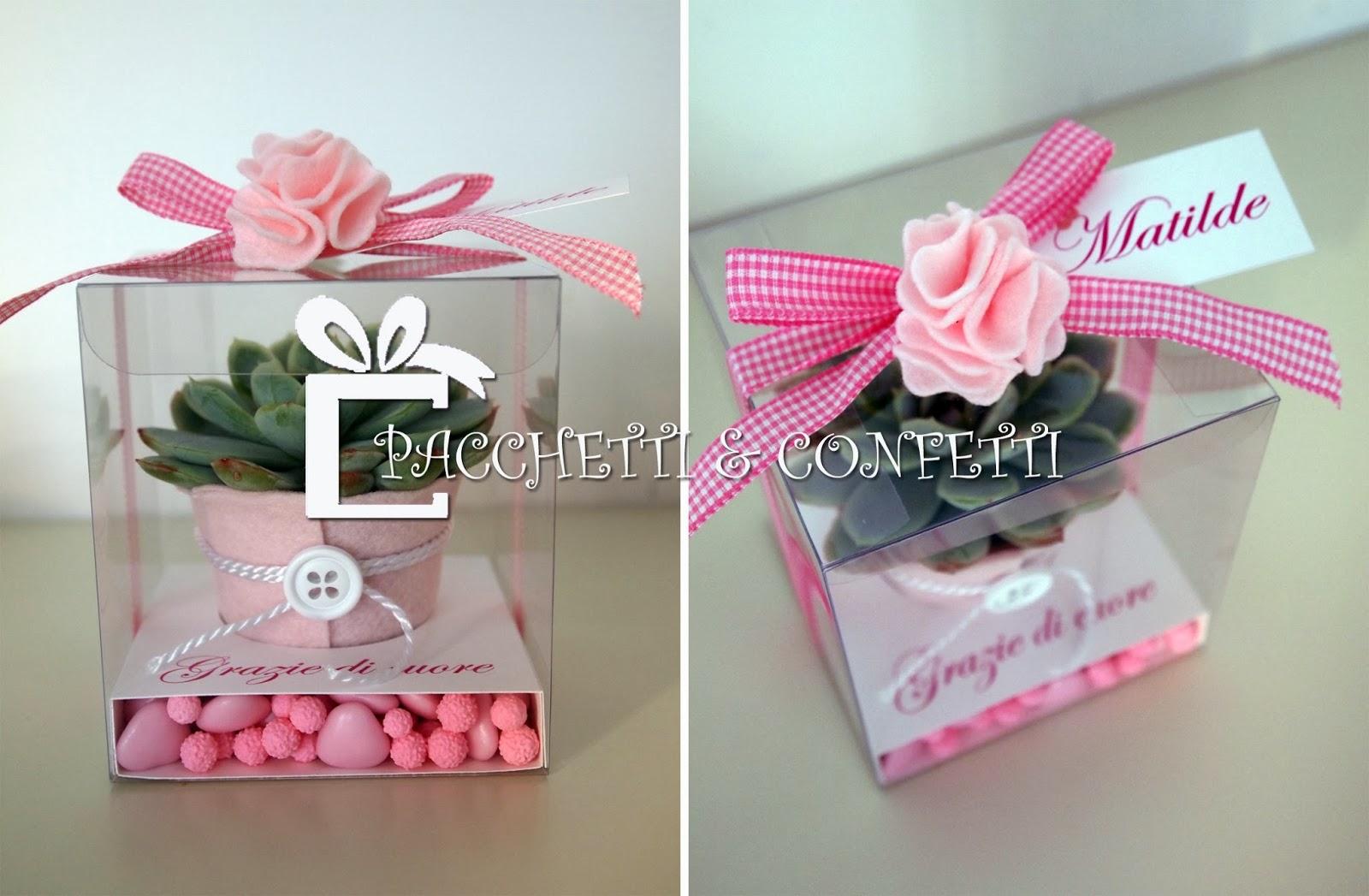 Pacchetti e confetti bomboniere battesimo matilde - Pacchetti natalizi fai da te ...