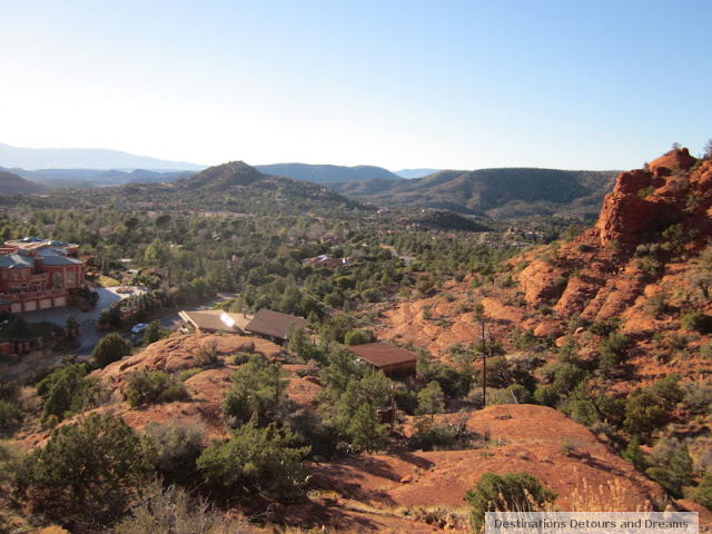 View from Chapel Rock, Sedona, Arizona