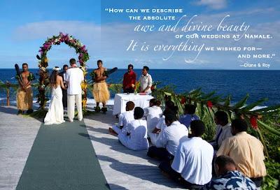 Great Concept of Fiji Wedding