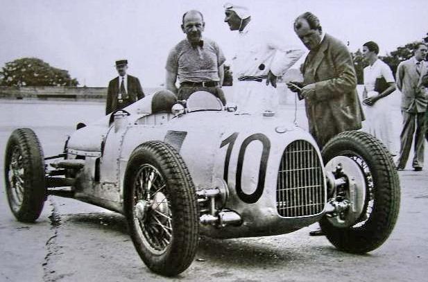 Porsche Diésel Super 50 - Universal Hobbies 1/43 Fp+Montihery+1934+Walb+Stuck+Porsche