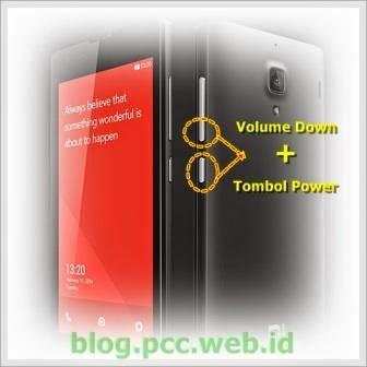 Cara Screen Shot di Xiaomi Redmi 1 S dan Redmi Note