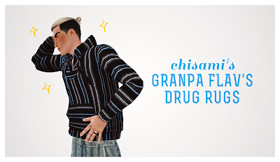 Grandpa Flav's Drug Rugs by Chisami