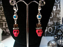 Goth Magic Man Voodoo Earrings