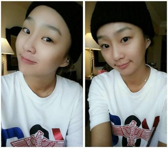 Hyorin shows off youthful looks with bare faced selcas ...