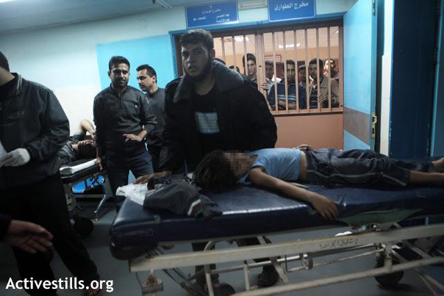 Unidade de cuidados intensivos do Hospital Shifa - ataque israelense