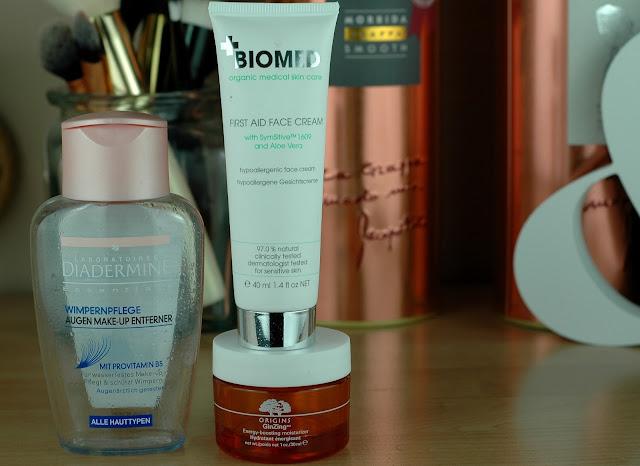 Aufgebrauchte Gesichtspflege - Empties
