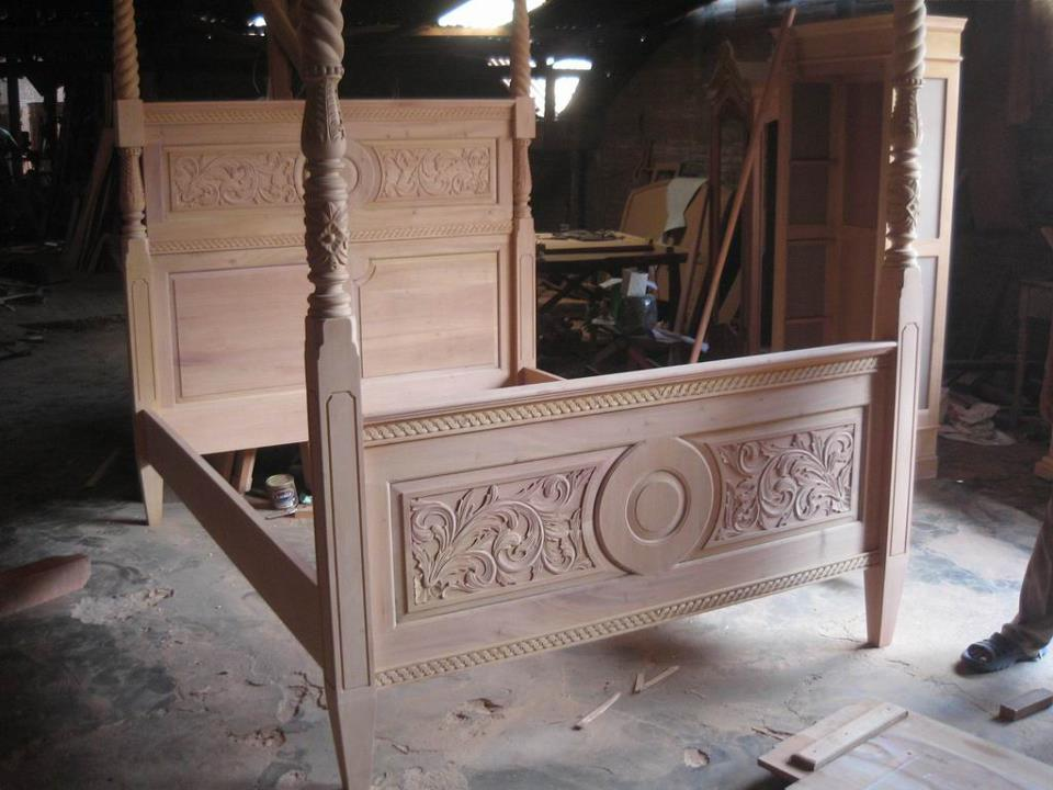 Unfinished mahogany furniture august 2013 for Classic reproduction furniture