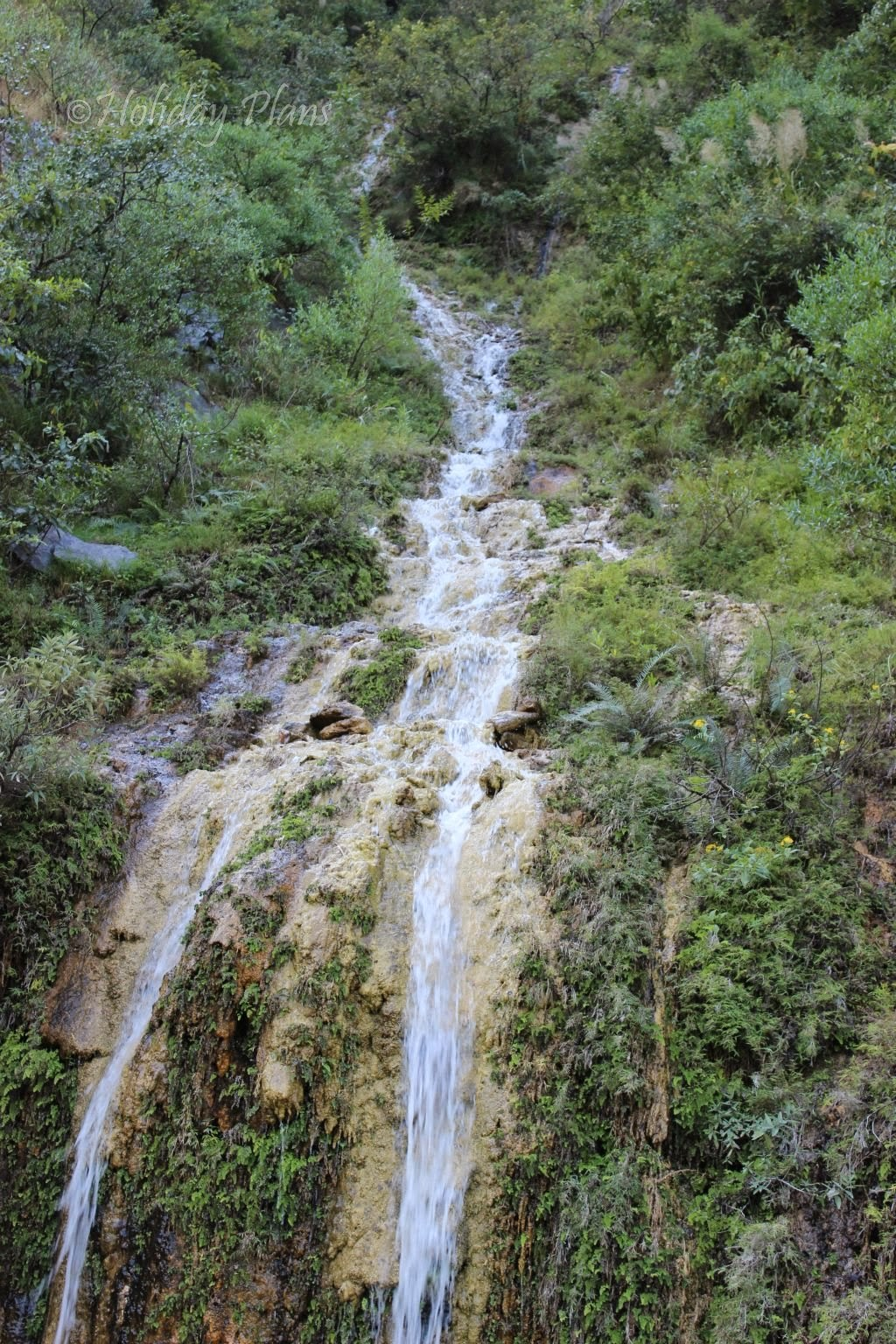 Waterfalls in the journey