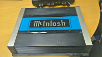 McIntosh MC420 power amplifier. Fina grejer!