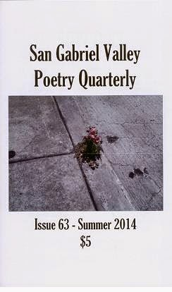 San Gabriel Valley Poetry Quarterly Summer 2014