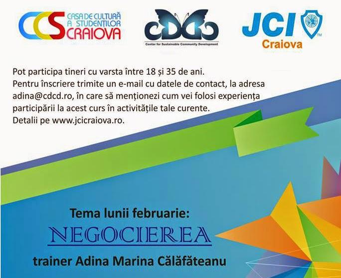 Academia de Training JCI: Negocierea