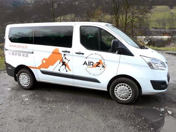 minibus d'AIR-Z marche nordique