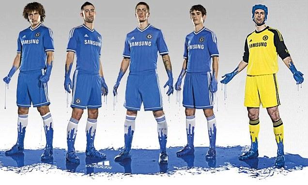 Chelsea Rilis Jeysey Resmi Untuk Musim 2013-2014
