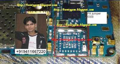 Nokia 6300 Network PA Jumper Solution By BuntyGSM