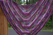 Once In A Blue Moon Shawl