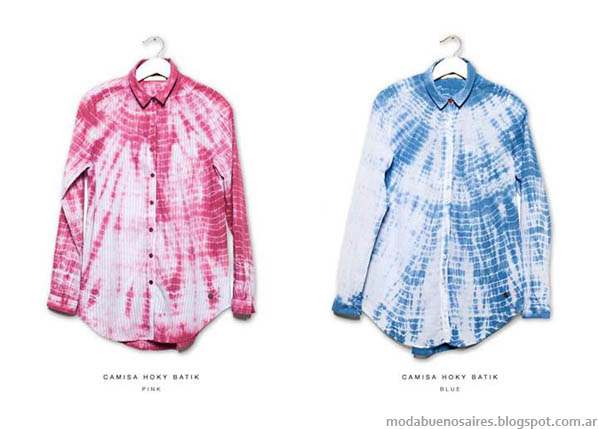 Camisa de mujer Kosiuko verano 2014. MODA.