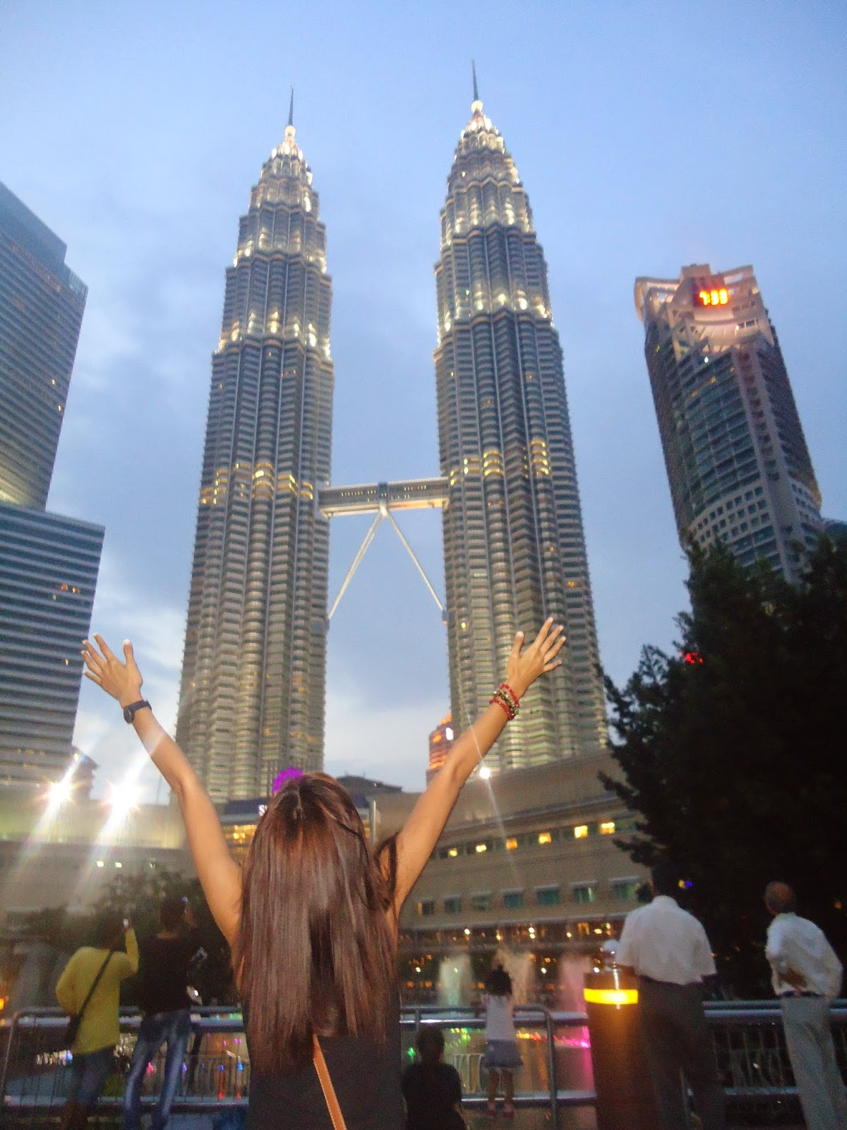 Meeting the Twin Tower