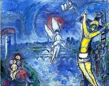 Why Not : A Blog: The Crucifixion Crucifixion Marc Chagall
