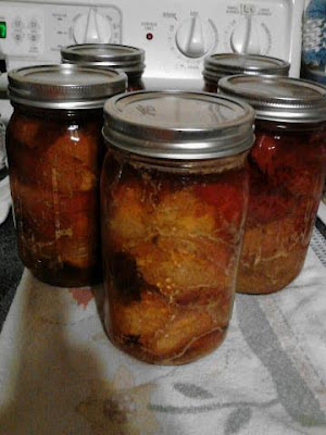 canning pork with apple juice